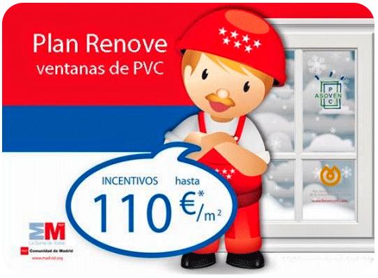 Agotados los fondos del Plan Renove Ventanas de PVC de la C.Madrid
